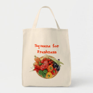 Squeeze for Freshness Tote Bag