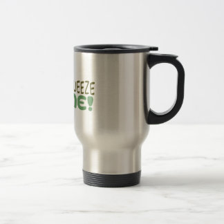 Squeeze Me Stainless Steel Travel Mug