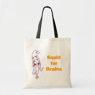 Squid for Brains Tote Bag