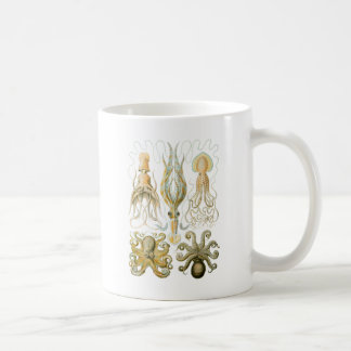 Squid & Octopus Coffee Mug