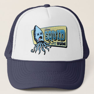 Squid Rum Trucker Hat