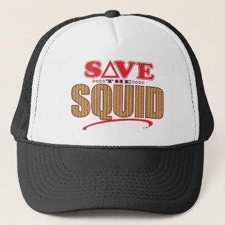 Squid Save Trucker Hat