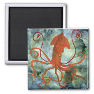squid square magnet