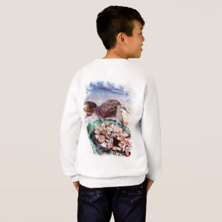 Squid to Gallego/Dust to feira/Galician octopus Sweatshirt