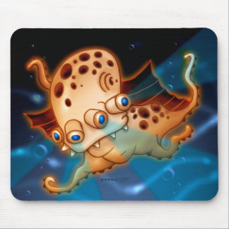 SQUIDDY MONSTER MOUSE PAD