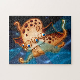 SQUIDDY MONSTER PUZZLE 11 X 14