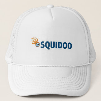 Squidoo Hat. Trucker Hat