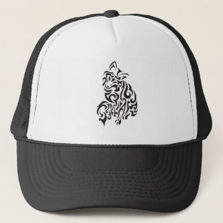 Squiggle Fox Trucker Hat