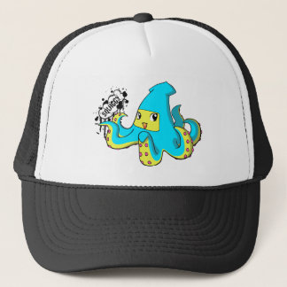 Squiggy Trucker Trucker Hat