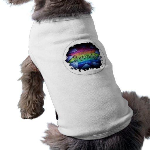 Squiishy 4 sleeveless dog shirt
