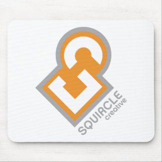 Squircle Creative Logo Mouse Pads