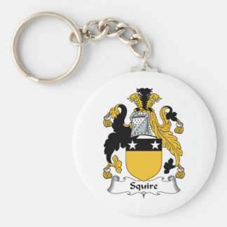 Squire Family Crest Keychains