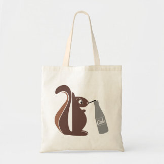 Squirrel 0025 nc budget tote bag