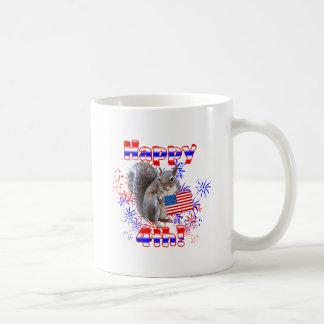 Squirrel 4th of July Mug