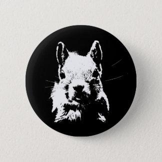 Squirrel 6 Cm Round Badge
