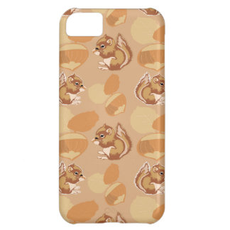 squirrel and nuts patterns iPhone 5C case