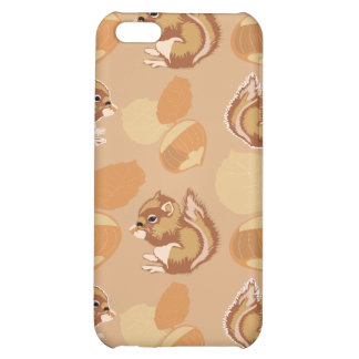 squirrel and nuts patterns cover for iPhone 5C