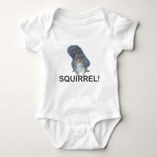 Squirrel! Baby Bodysuit