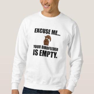 Squirrel Birdfeeder Empty Sweatshirt