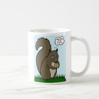 Squirrel Brain Nut Mug