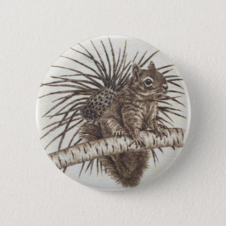 Squirrel button - Scoiattolino spilla