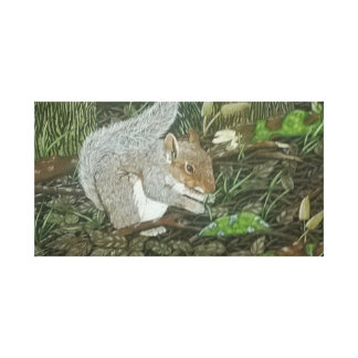 Squirrel Gallery Wrap Canvas