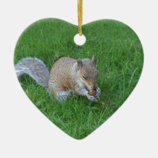 squirrel christmas ornament