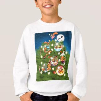 Squirrel Christmas Tree Sweatshirt