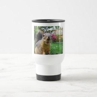 Squirrel Closeup Travel Mug