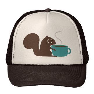 Squirrel Coffee Lover Cap