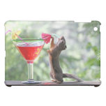 Squirrel Drinking a Cocktail iPad Mini Cover