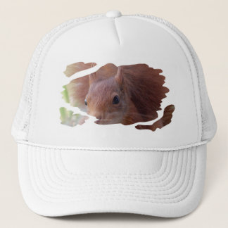 Squirrel ~ Écureuil ~ squirrels ~ by JL GLINEUR Trucker Hat