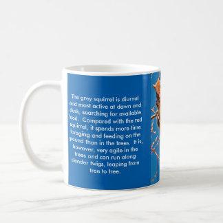 Squirrel (Grey)mug Coffee Mug