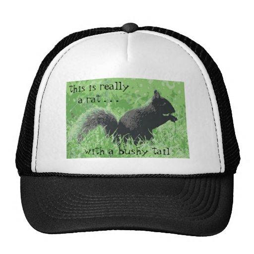 Squirrel Hater Cap Trucker Hat