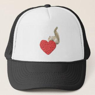 Squirrel Heart Hat