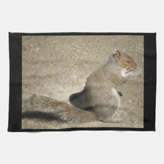 Squirrel Hungry Horatio Kitchen Towel
