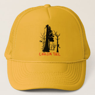 SQUIRREL HUNTING TRUCKER HAT