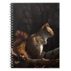 Squirrel in a Patch of Sunlight Notebook