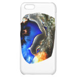Squirrel In tree Pop Art Style Case For iPhone 5C