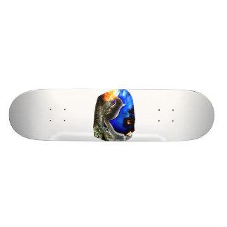 Squirrel In tree Pop Art Style Skateboard Deck