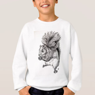 Squirrel Ink Illustration Sweatshirt