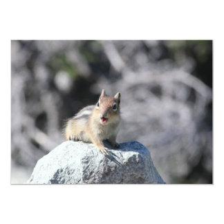 Squirrel Invitation