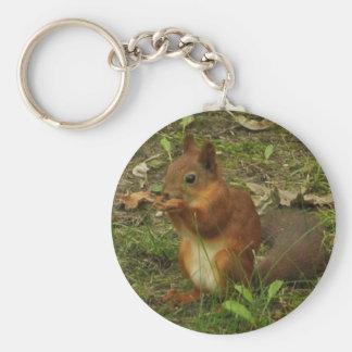 Squirrel Key Ring