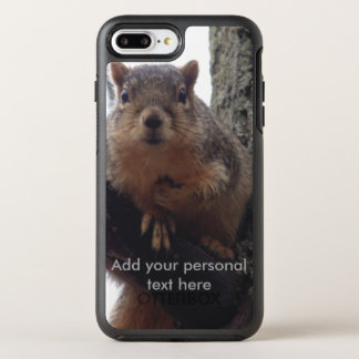 Squirrel looking at your Otterbox phone case