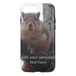 Squirrel looking at your tough phone case