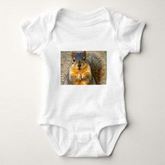 Squirrel Love_ Baby Bodysuit