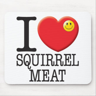 Squirrel Meat Mouse Mat