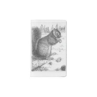 Squirrel Moleskine Pocket Notebook