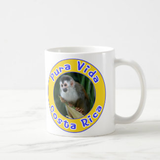 Squirrel Monkey, Pura Vida, Costa Rica Coffee Mug