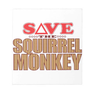 Squirrel Monkey Save Notepad